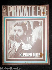 PRIVATE EYE - Vintage Satirical Political Humour Magazine - 26th February 1971
