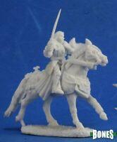 1 x SIR DANEL - BONES REAPER miniature jdr rpg d&d cavalier cheval horse 77354