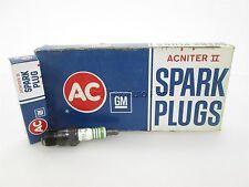 Ac ACNiter II R46TX SET OF 8 Spark Plugs 5613579 Green Stripe