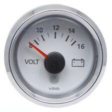 VDO Viewline Voltmeter 8-16V (126.731/126.807)