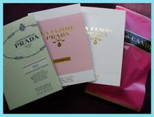 Prada 4 x 1.5ml Eau de Parfum / Toilette samples / vials