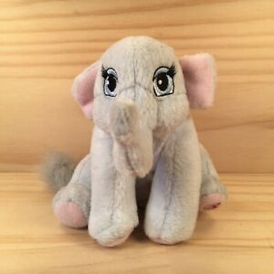 "TIKA THE ELEPHANT ""Grey"" Sweet Mini Barbie Character Soft Toy Stuffed Animal"