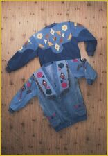 Junk Jeans Cardigan Jacket Denim Recycle Upcycle Funky Sewing Pattern CAR-7007