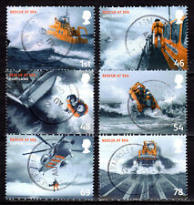 Great Britain - 2008 Rescue at sea - Mi. 2622-27 VFU