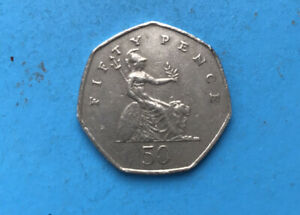 50p Coin - 1997 Elizabeth II 50p Pence D.G.Reg.F.D. 1997
