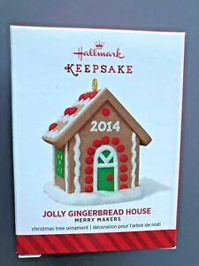 HALLMARK 2014 MERRY MAKERS JOLLY GINGERBREAD HOUSE