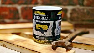retro mug vintage distressed effect oil can effect birthday gift for him