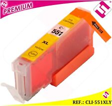 INCHIOSTRO CLI551Y CLI 551 XL GIALLO CARTUCCIA NOOEM COMPATIBILE NO ORIGINAL