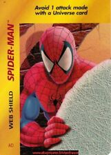 Overpower TCG - Spider-Man Web Shield  / Base Set