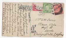 Mrs C H Ferris Manor Villa High Street Rowde Devizes 1925 270a