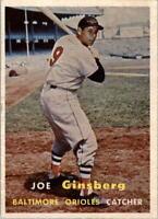 1957 Topps #236 Joe Ginsberg - EX