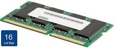NEW Lot of 16 Lenovo 1GB PC2-5300 DDR2 SDRAM SODIMM Memory RAM 40Y7734