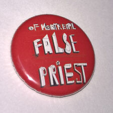 OF MONTREAL False Priest PROMO Pinback BUTTON pin BADGE 2010