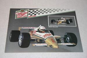 DANNY SULLIVAN MILLER HIGH LIFE INDYCAR PENSKE RACING INDY 500 1989 POSTER CARD