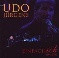 """UDO JÜRGENS """"EINFACH ICH LIVE 2009"""" 2 CD NEU"""