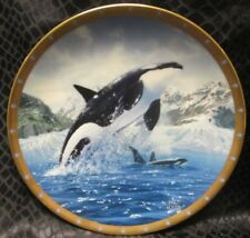 Orea by Jarrett Holderby ~ Whale Preservation Plate Collection Lenox Plate ©1993
