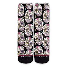 Function - Sugar Skull Printed Sock novelty socks sublimation socks adult socks