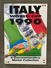 Italy 1990 World Cup Commemorative Medal Coin Collection Italia 90 *Complete*