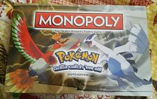 Pokemon Monopoly Game Johto Edition FREE SHIPPING Hasbro Parker Bros