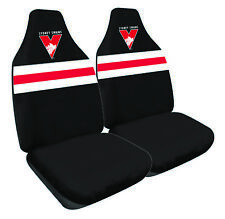 SYDNEY SWANS Official AFL Seat Covers Airbag Compatible *NEW 2018 Design*