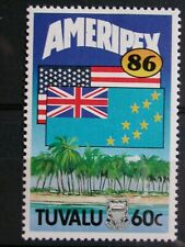 TUVALU '1986 * MH 367 YT 1,5 EUR EXPOSITION,FLAGS,AMERIPEX,FAIR,EXPOSITION