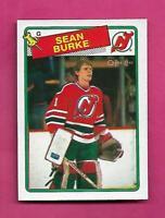 1988-89 OPC # 94 DEVILS SEAN BURKE  ROOKIE NRMT-MT CARD (INV# C4385)