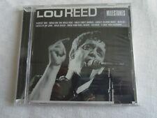 CD  LOU REED  MILLESTONES