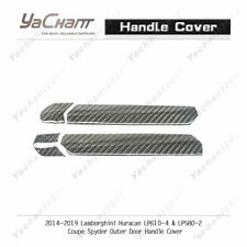 Dry Carbon Kit For 14-19 Huracan LP610-4 & LP580-2 Outer Door Handle Cover