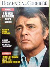 La Domenica del Corriere 8 Agosto 1972 Monroe Medico Burton Torri Gemelle Ginott
