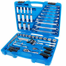 Zoll Werkzeug Satz 3/8 1/4 Steck-Schlüssel Set Harley US Car Ring-Maulschlüssel