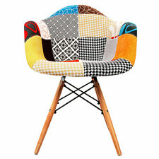 Artiss Set of 2 Fabric Dining Chairs Replica Eames Armchair