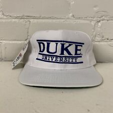 Duke University Blue Devils Split Bar Snapback Hat The Game ACC NWT New 90s