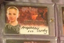 Harry Potter GoF Gabrielle Delacour Angelica Mandy Autograph Auto Trading Card