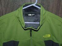 The North Face WIndwall Fleece Lined Jacket XL Men's TNF Green/Grey NWOT