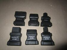 Lot of (6) OBD2 OBDII Adapter Connector 16-Pin for AUTOBOSS V30 Scanner 3100