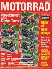 Motorrad 15 79 BMW R 100 T Guzzi 1000 G5 GS 850 900 SD Darmah XR 500 Fantic 1979