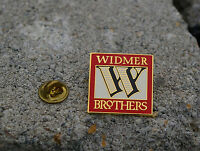 Widmer Borthers Brewing Red Beer Brew Gold Tone Metal & Enamel Lapel Pin Pinback