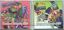 JoJo's Bizarre Adventure desk top calendar 2012 set of 2 official anime mini
