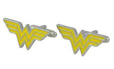 New Men`s Wedding Party Gift Super Hero Wonder Woman DC Fashion Cufflinks KZ43