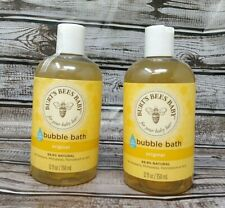 2 Pack 12oz Burt's Bees Baby Bee Bubble Bath Tear Free Gentle Cleansing Complex