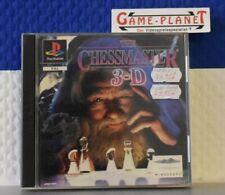 The Chessmaster 3D Sony Playstation 1 OVP Mindscape Strategiespiel Schach  1 2