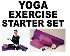 YOGA & PILATES Exercise Starter Set for Health & Fitness