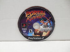 Portal Runner 3DO Playstation 2 Video Game