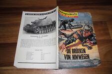 SOLDATENGESCHICHTEN 59 / 1959 -- BRÜCKEN von NIMWEGEN / Tat deutscher Froschmann