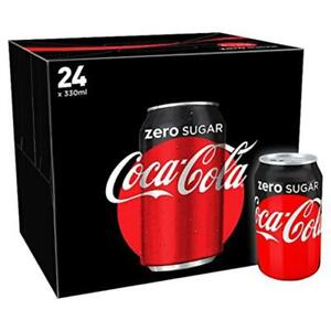 Coke Zero pack of 24 x 330 ml cans