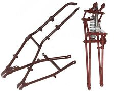 Triumph 3HW 3SW 350CC Complete Girder Fork Assembly With Body Frame Primered CAD
