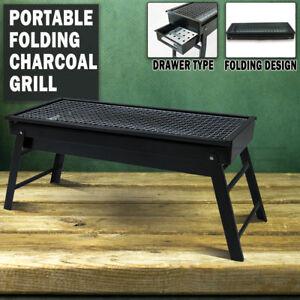 Foldable Portable BBQ Charcoal Grill Barbecue Camping Hibachi Picnic