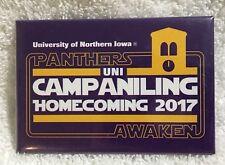 UNI University Northern Iowa Panthers Awaken Campaniling Homecoming Pin 2017