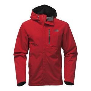 THE NORTH FACE Dryzzle Gore-Tex Mens L Rain/Shell Jacket/Coat Red $199 NEW