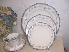 NEW Noritake TRAVIATA 5 Piece Place Setting (S) - Dinner Salad Bread Cup, Saucer